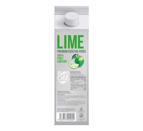 Island Oasis Lime Puree 1kg
