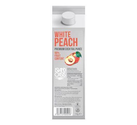 Island Oasis White Peach Puree 1kg
