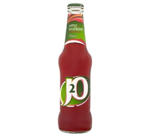 J2O Apple & Raspberry Juice 275ml - Case of 24