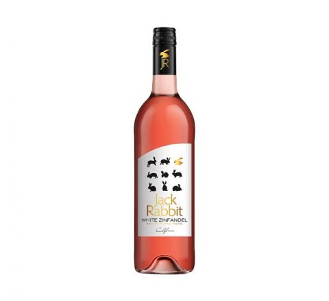 Jack Rabbit White Zinfandel WINE 75cl - CASE OF 6
