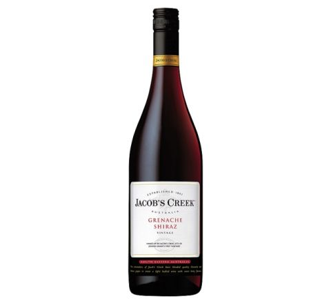 Jacob's Creek Grenache-Shiraz Wine 75cl - Case of 6
