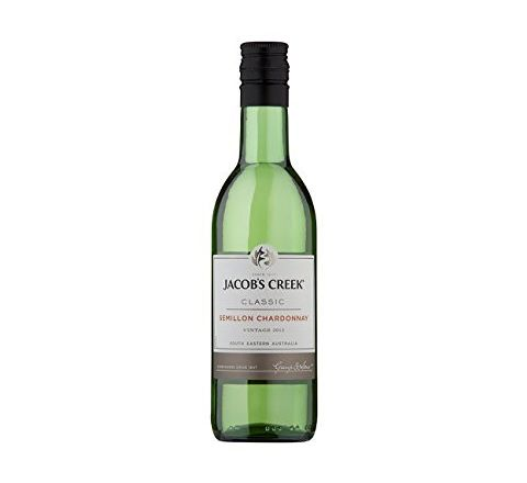 Jacob's Creek Semillon Chardonnay Wine Miniature 187ml - Case of 12
