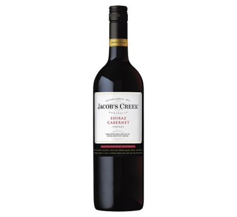 Jacob's Creek Shiraz Cabernet Wine 75cl - Case of 6
