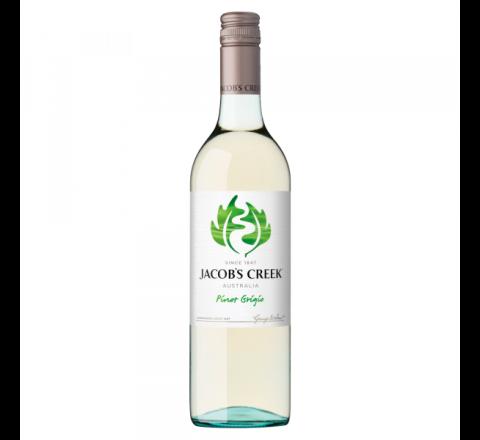 Jacob's Creek Pinot Grigio Wine 75cl - Case of 6
