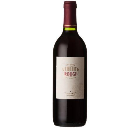 Jacques Veritier Rouge Vin de France 2016 Wine 75cl - Case of 6