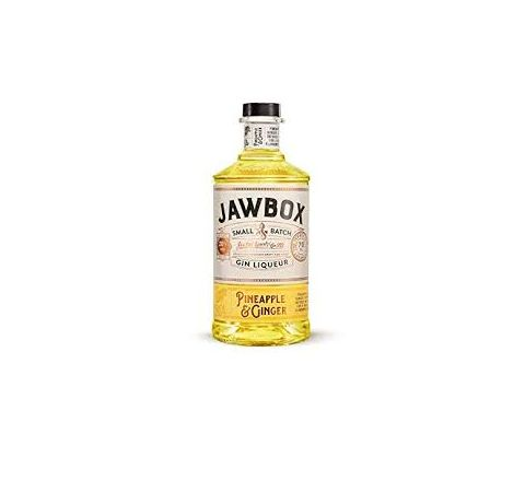 Jawbox Pineapple & Ginger Gin Liqueur 70cl - Case of 6