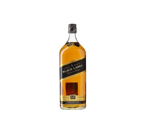 Johnnie Walker Black Label Whisky 1.5 Litre - Case of 6