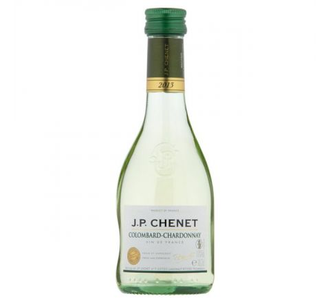 JP Chenet Colombard Chardonnay Wine Miniature 187ml - Case of 6