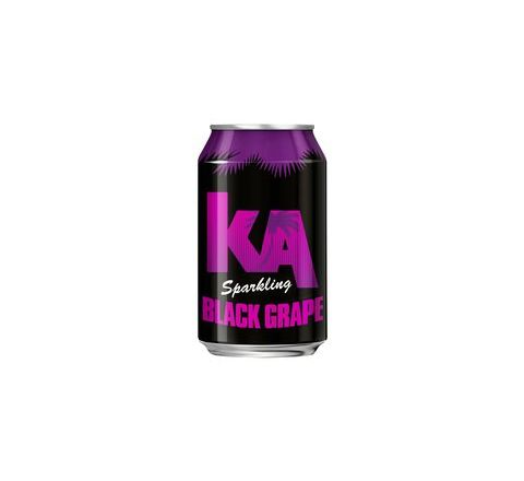 KA Sparkling Black Grape PM 59p can 330ml - Case of 24