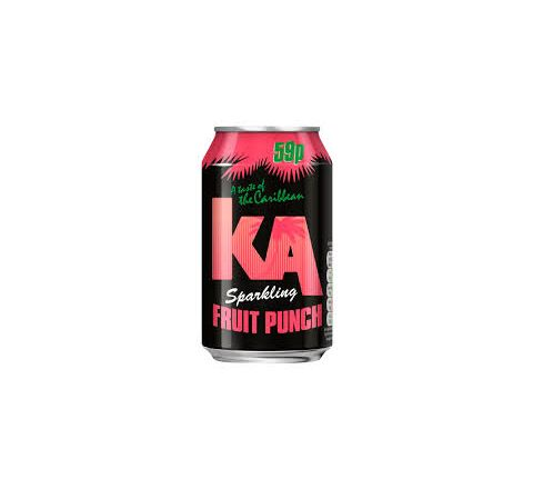 KA Sparkling Fruit Punch PM 59p can 330ml - Case of 24