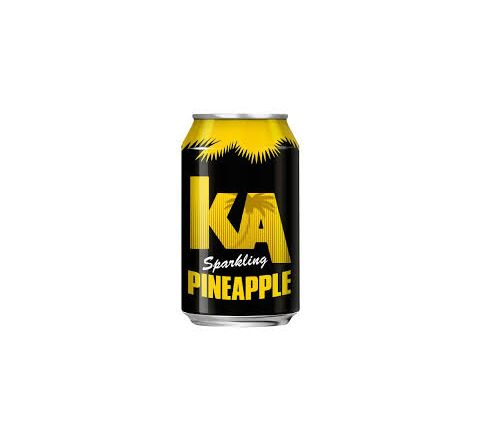 KA Sparkling Pineapple PM 59p can 330ml - Case of 24