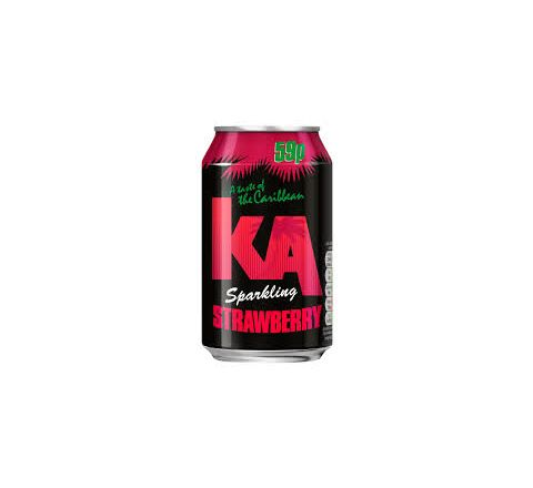 KA Sparkling Strawberry PM 59p can 330ml - Case of 24