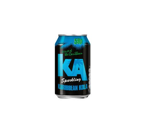 KA Sparkling Karibbean Kola PM 59p can 330ml - Case of 24