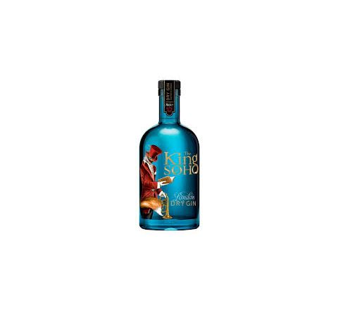 The King of Soho Variorum Gin 70cl - Case of 6