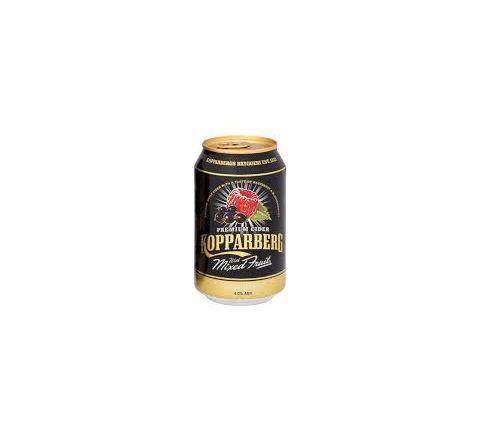 Kopparberg Mixed Fruit Cider Can 330ml - Case of 24