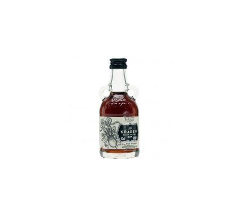 The Kraken Black Spiced Rum Miniature 5cl - Case of 15