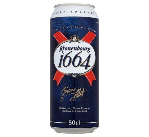 Kronenbourg 1664 Beer can 568ml - Case of 24