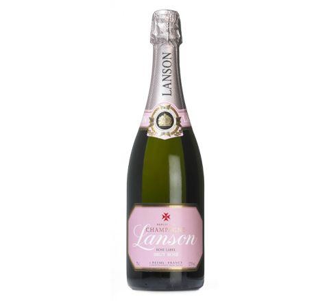 Lanson Rosé Label Champagne 75cl