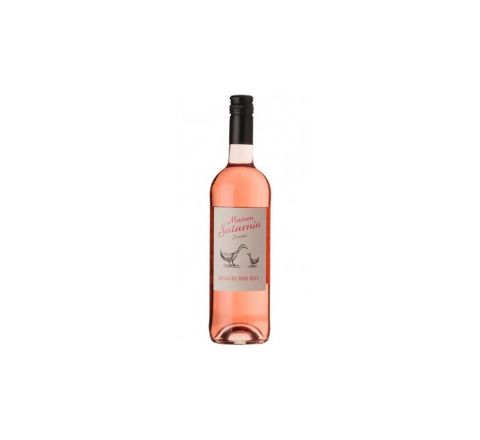 Laudun Chusclan Maison Saturnin IGP Gard Rose' 2015 Wine 75cl - Case of 6