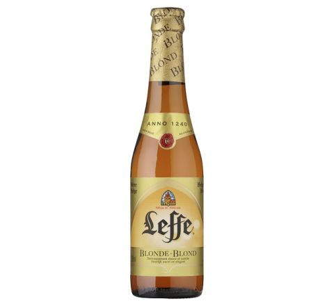 Leffe Blonde Beer NRB 330ml - Case of 24