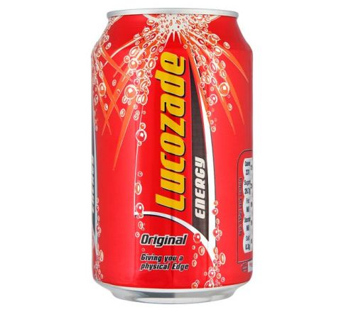 Lucozade Energy Original can 330ml - Case of 24