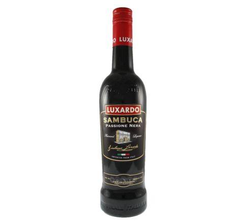 Luxardo Sambuca Passione Nera 70cl - Case of 6