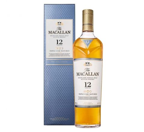 Macallan Triple Cask Matured 12 Years Old Whisky 70cl