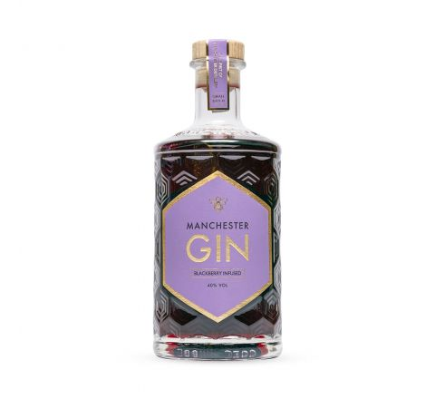 Manchester Blackberry Infused Gin 50cl
