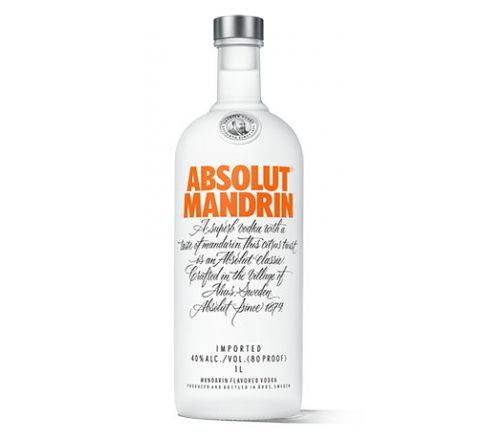 Absolut Mandrin Vodka 70cl - Case of 6
