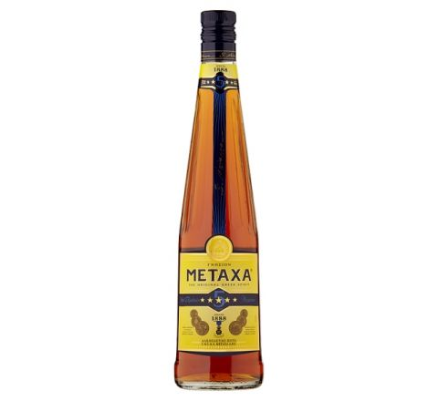 Metaxa 5 Stars Brandy 70cl - Case of 6