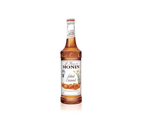 Monin Salted Caramel Syrup 70cl - Case of 6