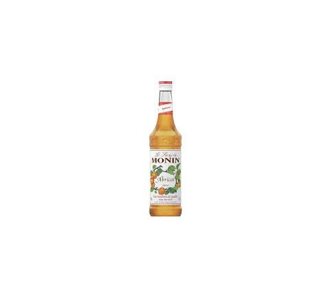 Monin Apricot Syrup 70cl - Case of 6
