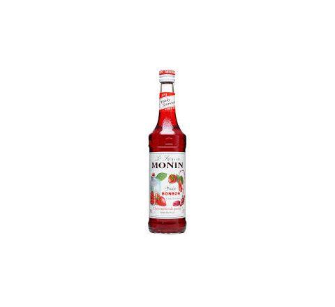 Monin Strawberry Bonbon Syrup 70cl - Case of 6