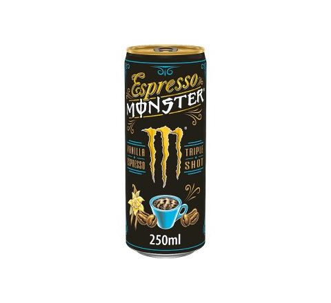 Monster Espresso Vanilla CANS 250ML - CASE OF 12