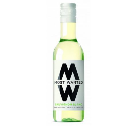 Most Wanted Sauvignon Blanc Wine Miniature 187ml - Case of 12
