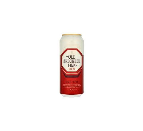 Old Speckled Hen Beer Can 500ml - Case of 24