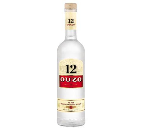 Ouzo 12 70cl - Case of 4