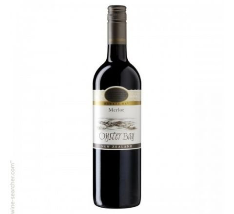 Oyster Bay Merlot Wine 75cl - Case of 6