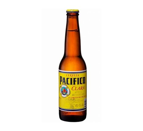 Pallet of PACIFICO CLARA BEER NRB 355ML (60 cases)