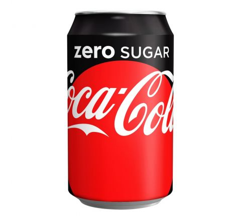 PALLET OF COCA COLA ZERO CAN 330ML - CASE OF 24 (120 cases)