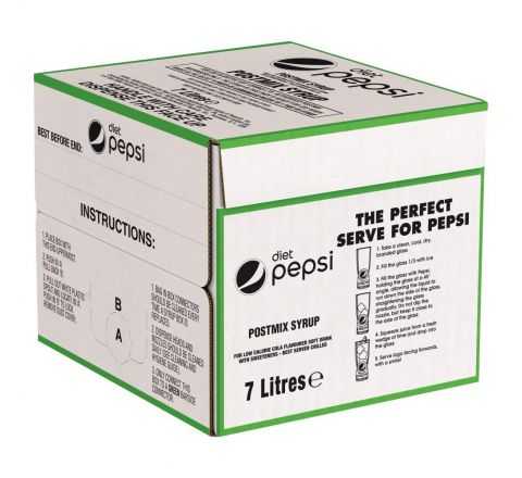Diet Pepsi Post Mix 7 Litres