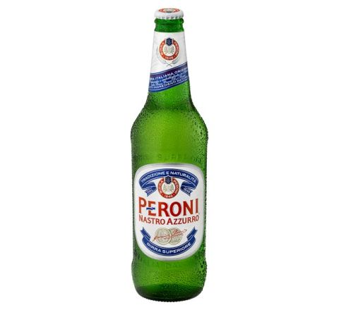 Peroni Nastro Azzurro Beer NRB 620ml - Case of 12