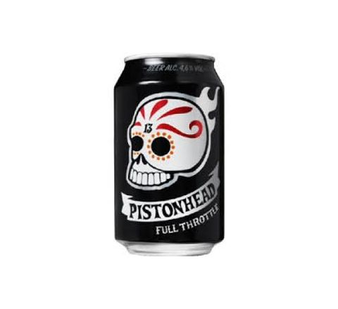 Pistonhead Kustom Beer can 330ml - Case of 24