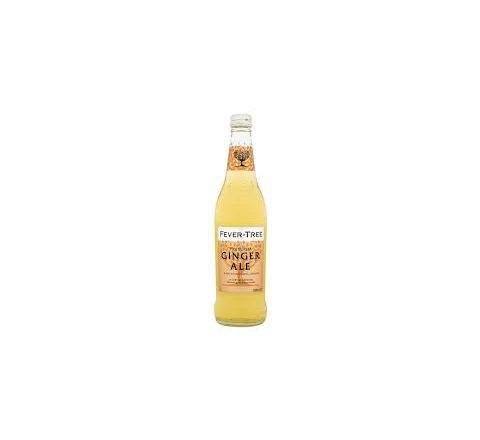 Fever Tree Naturally Light Ginger Ale - Case of 8