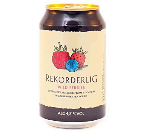 Rekorderlig Wild Berries Cider can 330ml - Case of 24