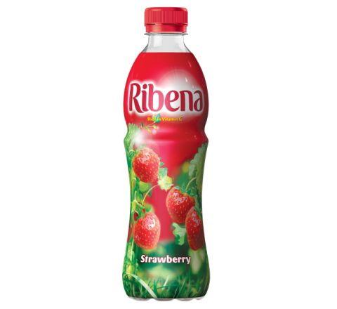 Ribena Strawberry Juice 500ml - Case of 12