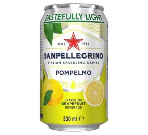 San Pellegrino Pompelmo can 330ml - Case of 24