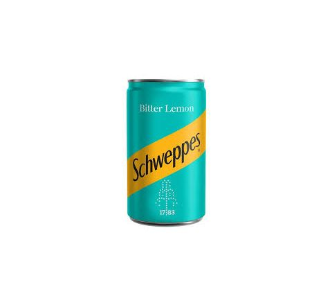 Schweppes Bitter Lemon can 150ml - Case of 24