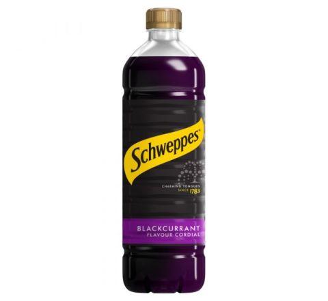 Schweppes Blackcurrant Cordial 1 Litre