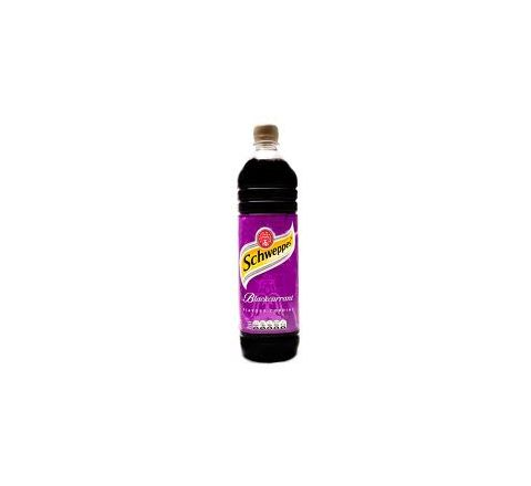 Schweppes Blackcurrant Cordial 1 Litre - Case of 12